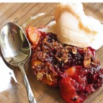 Blackberry Peach Crumblecrisp