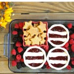 Stars & Stripes Sweet Dip with Shortbread