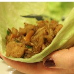 Chicken & Cashew Lettuce Cups