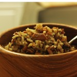Rosemary Wild Rice with Mushrooms & Cashews