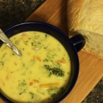 Double Cheddar Broccoli Soup