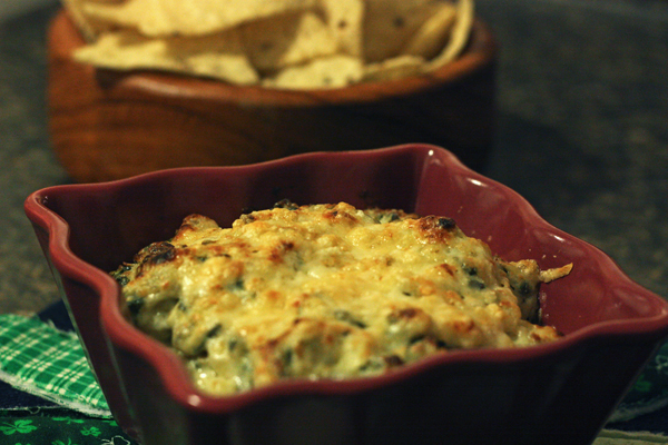 Fresh Spinach Artichoke Dip – 30 Pounds of Apples