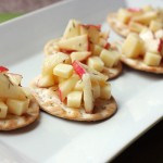 Cheddar & Apple Salad Bites