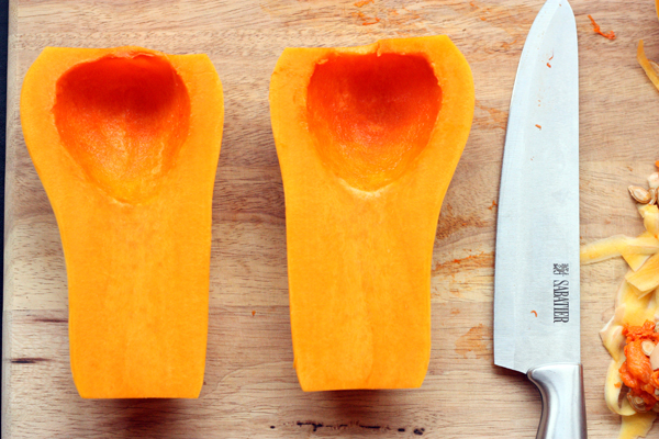 how to store cut up butternut squash