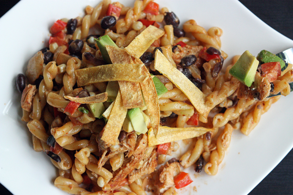 A Southwest Chicken Pasta