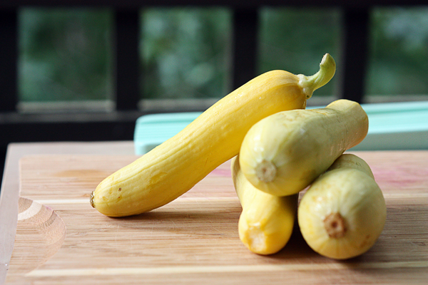 Pretty yellow squash
