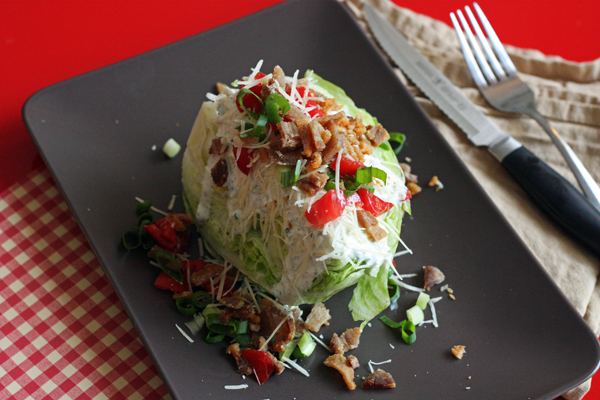 Wedge Salad for dinner