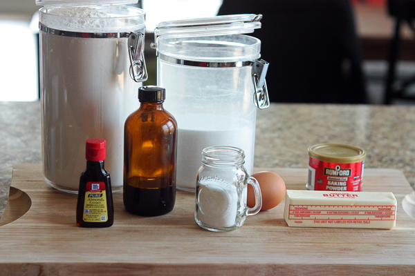Simple cookie ingredients