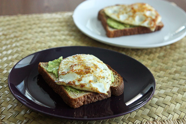 Avocado and Egg Toasts