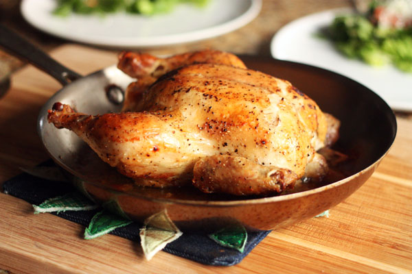 Weeknight Roasted Chicken