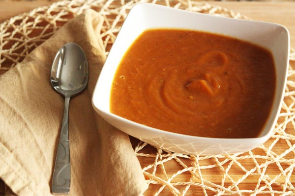 Spiced and Smoky Sweet Potato Soup