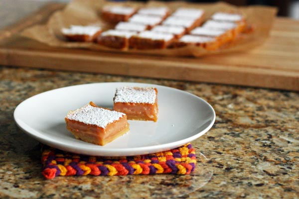 Blood Orange Dessert Bars