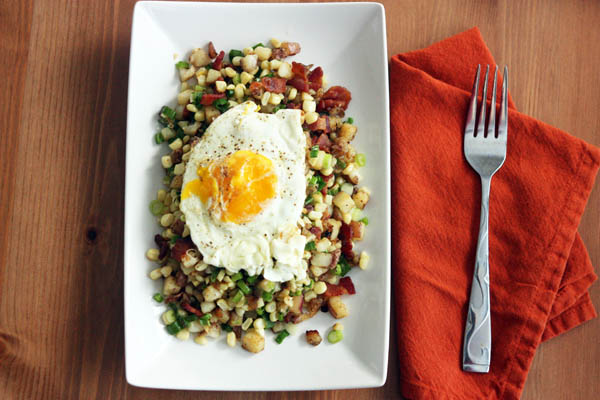 Corn & Bacon Hash – 30 Pounds of Apples