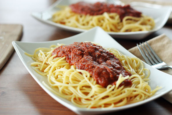 Favorite Quick Spaghetti Sauce – 30 Pounds of Apples