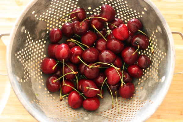 Beautiful little cherries